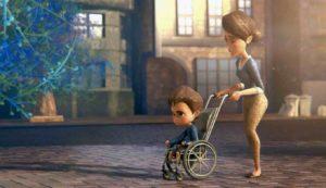 Ian com a mãe filme de animação