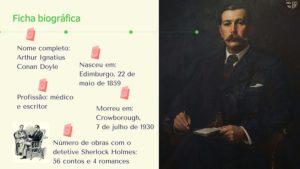 Conan Doyle ficha biográfica
