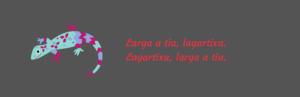 Lagartixa Trava-línguas