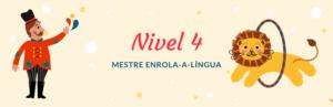 Trava-línguas nivel 4