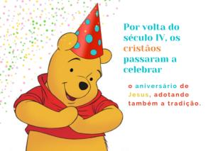 Feliz aniversário 4